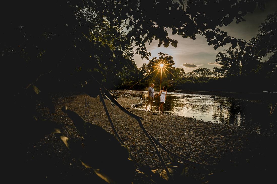 Naperville Riverwalk Engagement
